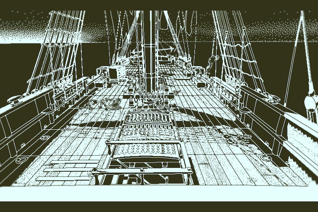 奥伯拉・丁號甲板。