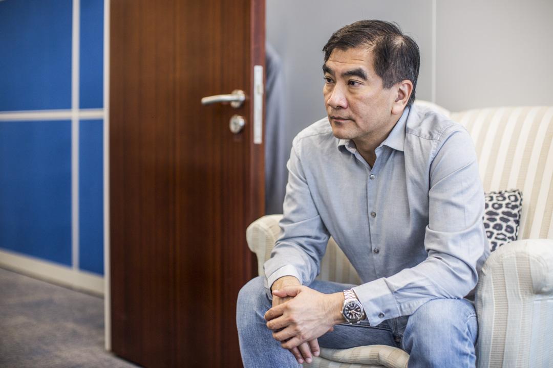 立法會議員鍾國斌。