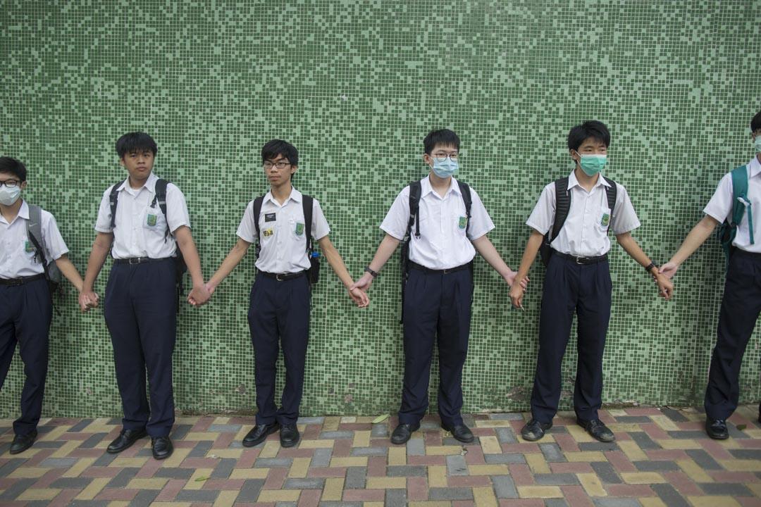 香港神託會培敦中學。