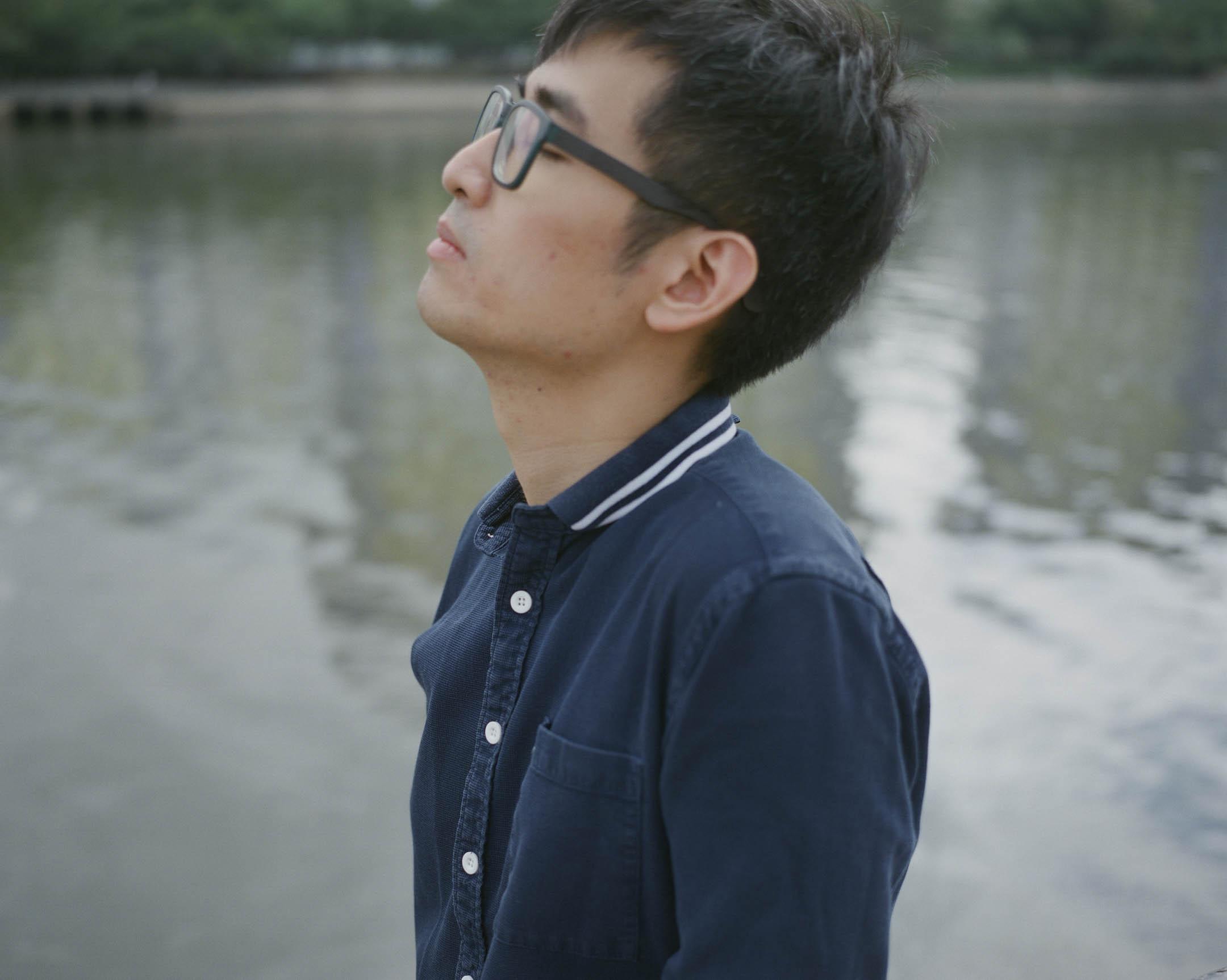 周永康,2014年雨傘運動期間擔任學聯秘書長,於2016年因參與重奪「公民廣場」行動,被判非法集會罪成立。 攝:林振東/端傳媒