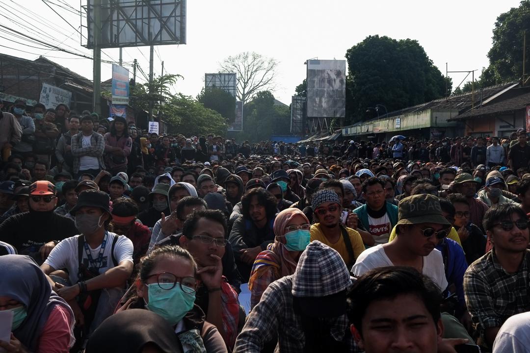 印尼連日引發大規模示威。