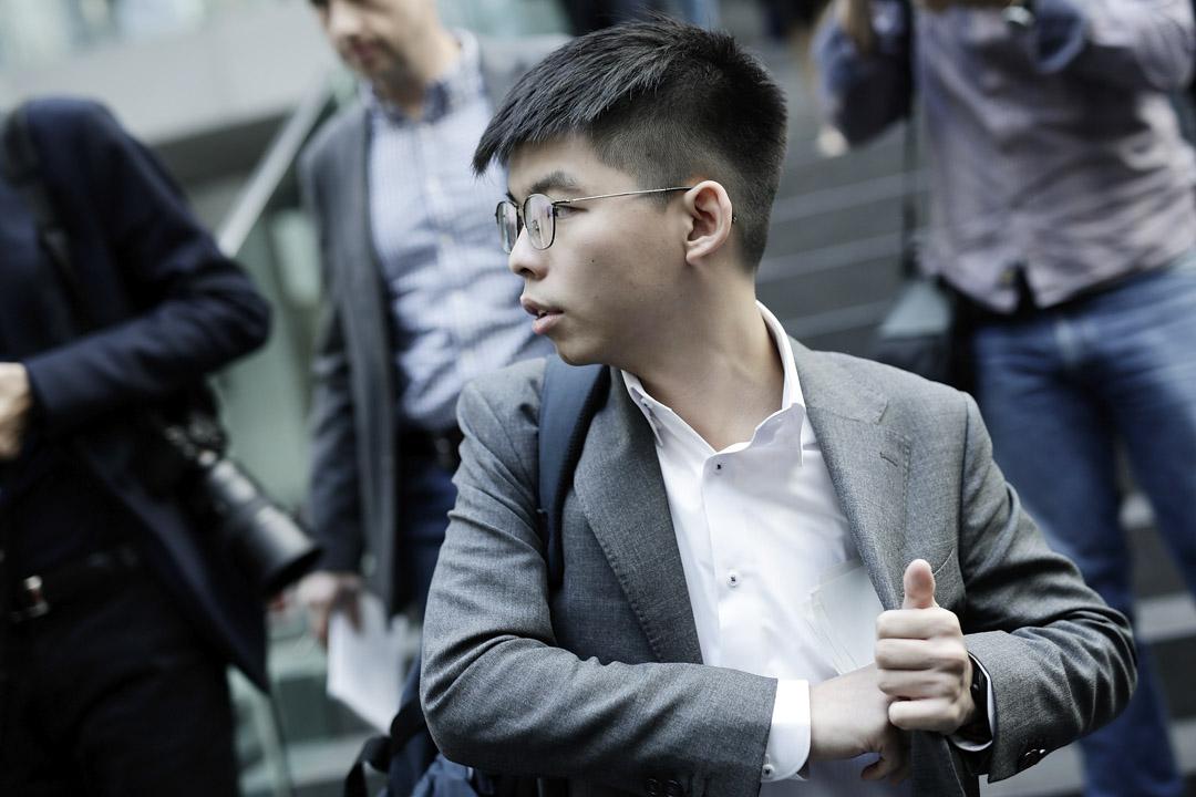 2019年9月9日,香港眾志秘書長黃之鋒抵達柏林,應邀出席德國媒體《圖片報》(Bild)舉辦的人權活動。
