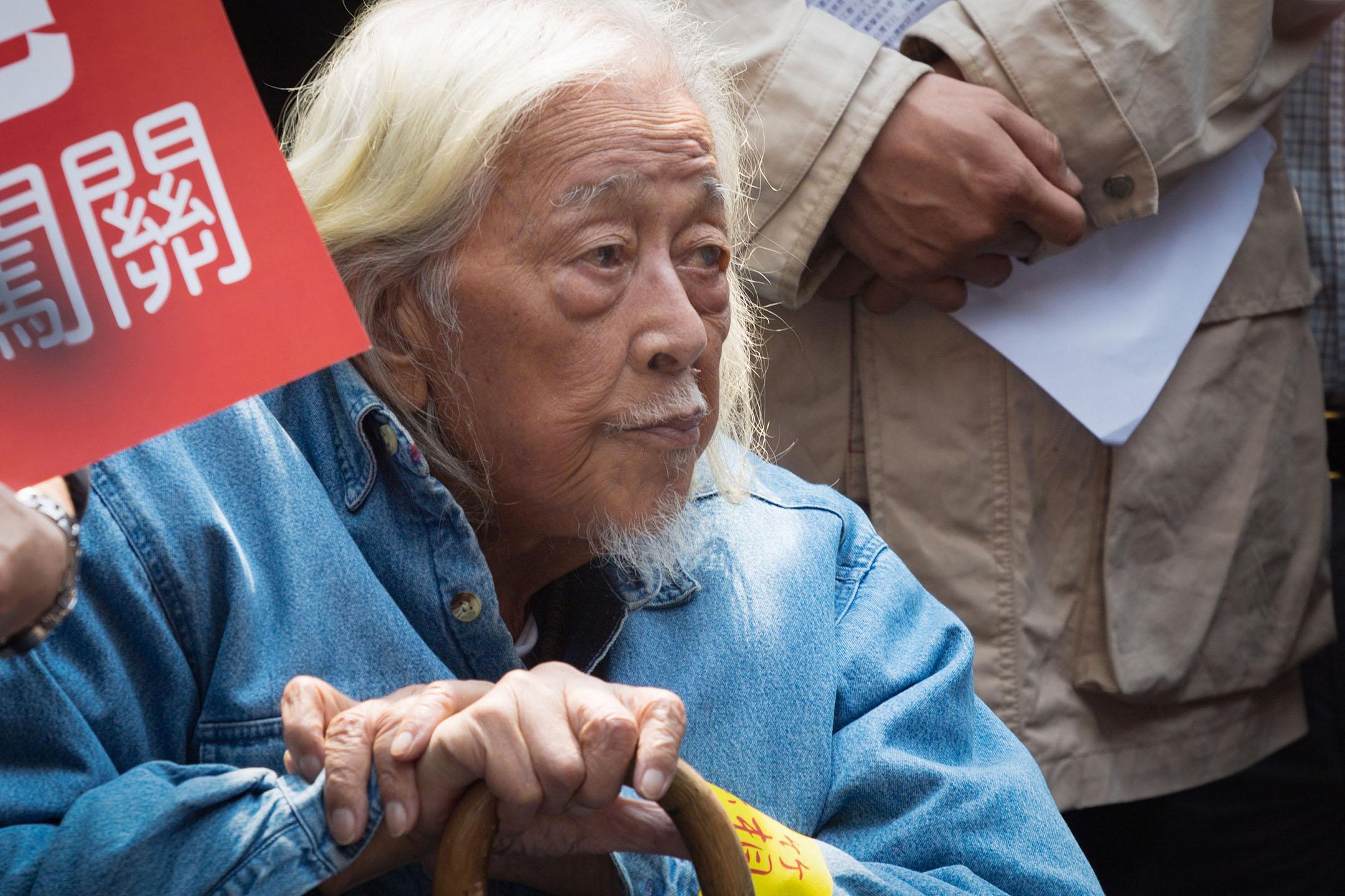 台獨運動先驅人物史明逝世,享年103歲。 Craig Ferguson/LightRocket via Getty Images
