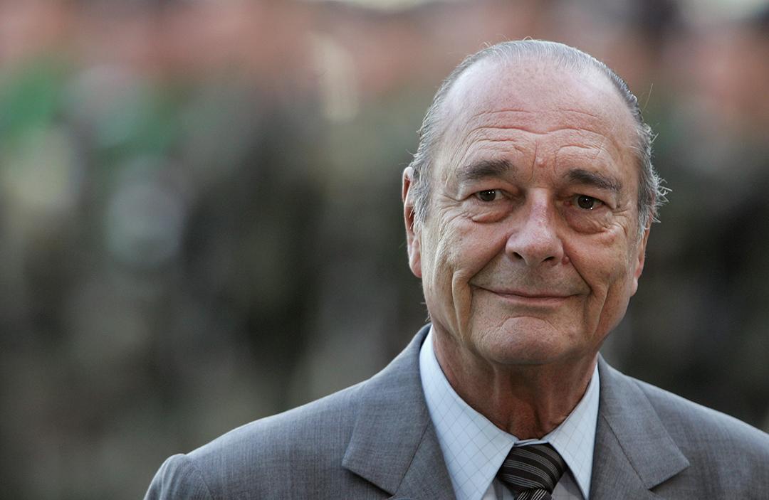 2019年9月26日,希拉克(Jacques Chirac)去世,享年86歲。 攝:Sean Gallup/Getty Images