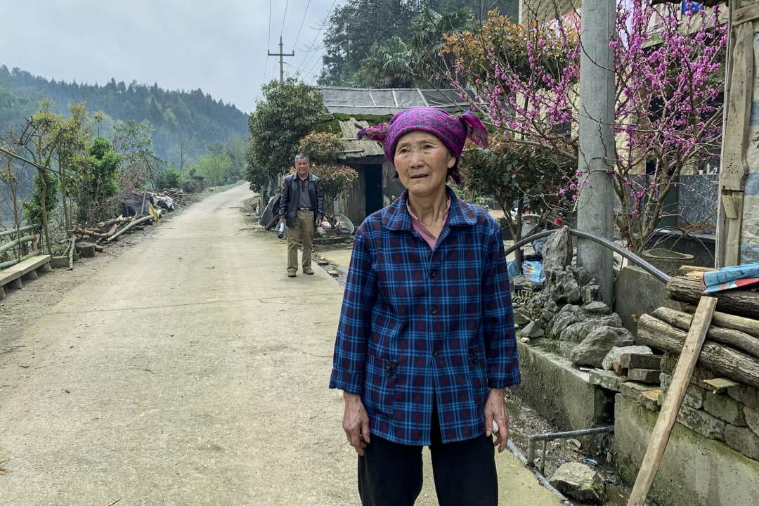 今年73歲的唐映翔是唐家美的侄女。