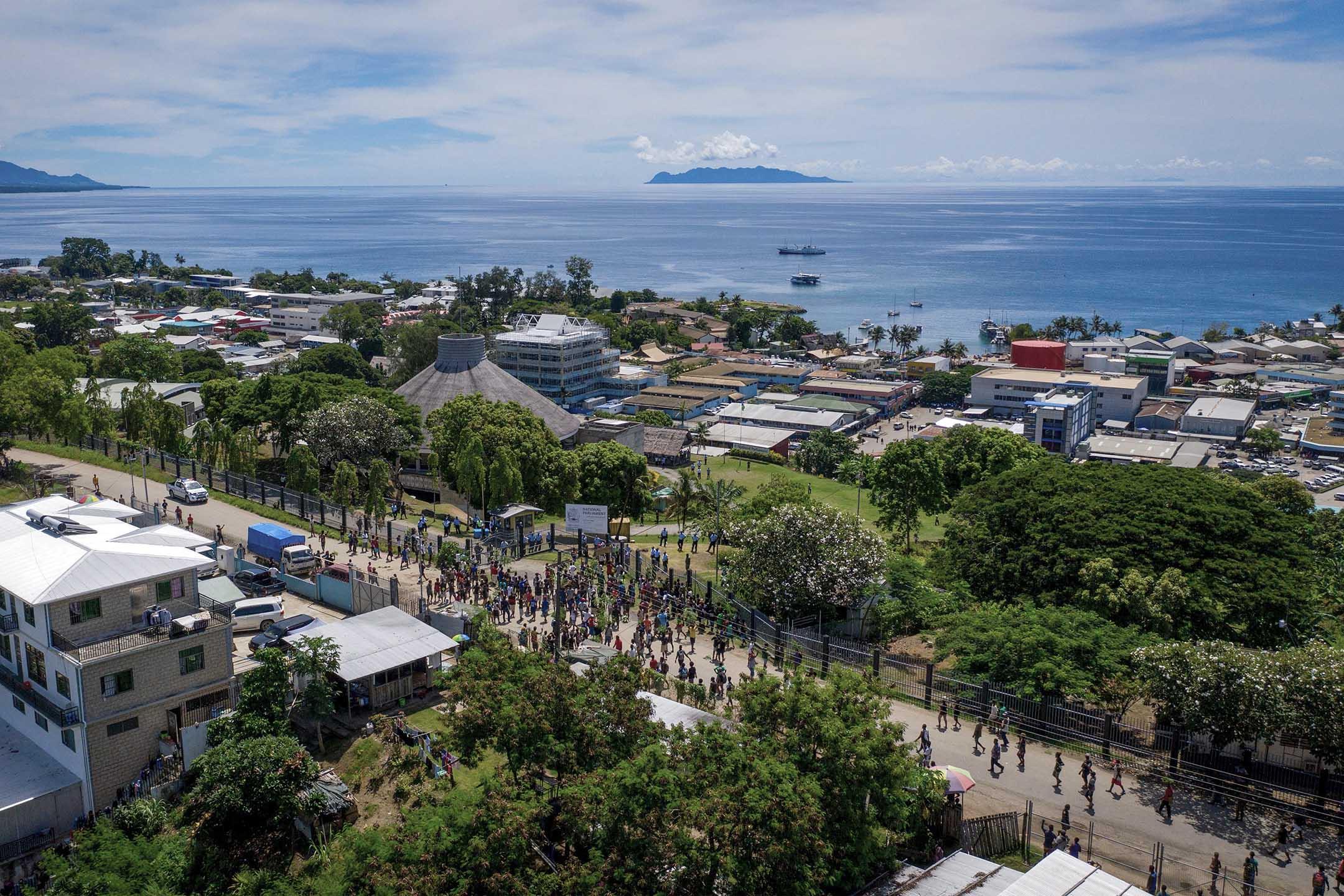 2019年4月24日,索羅門群島的霍尼亞拉。