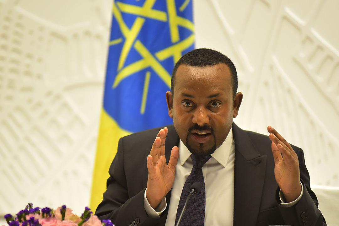 埃塞俄比亞總理阿比(Abiy Ahmed)獲今年諾貝爾和平獎。 圖:MICHAEL TEWELDE/AFP/Getty Image
