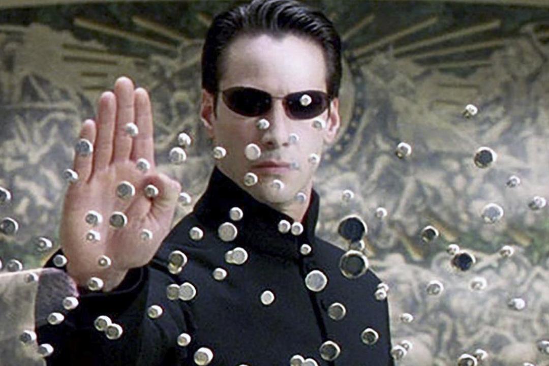 《The Matrix》劇照。