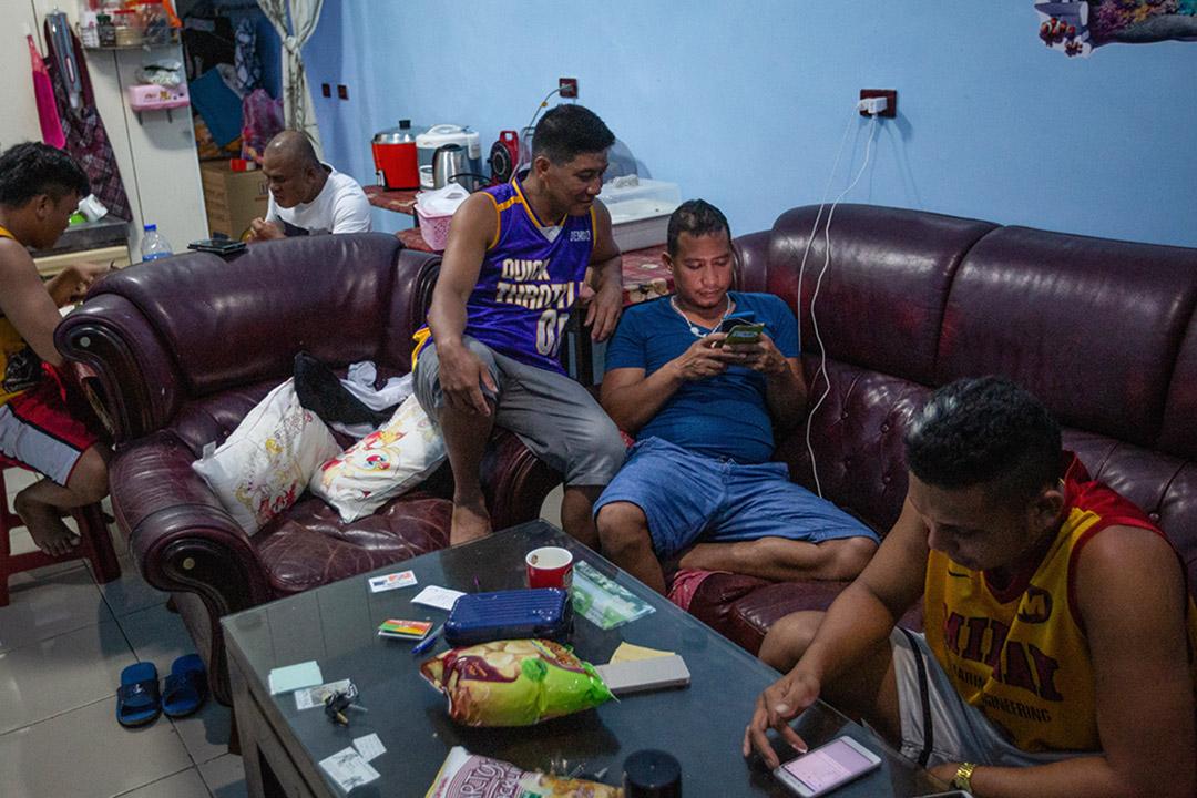 """""""六個菲律賓漁工一起合租的租屋處,罹難漁工"""