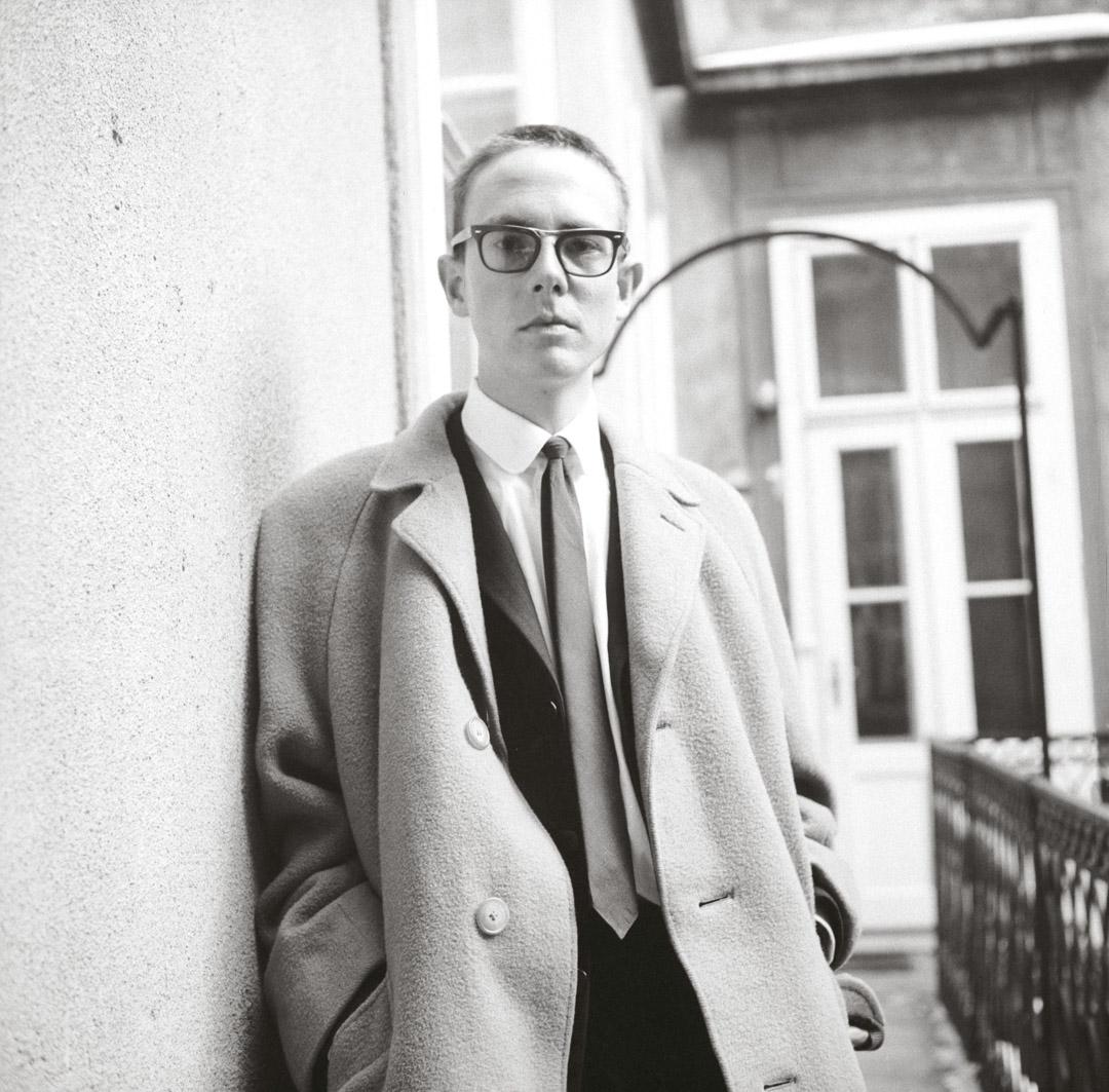 彼得.漢德克(Peter Handke)拍攝於1965年。