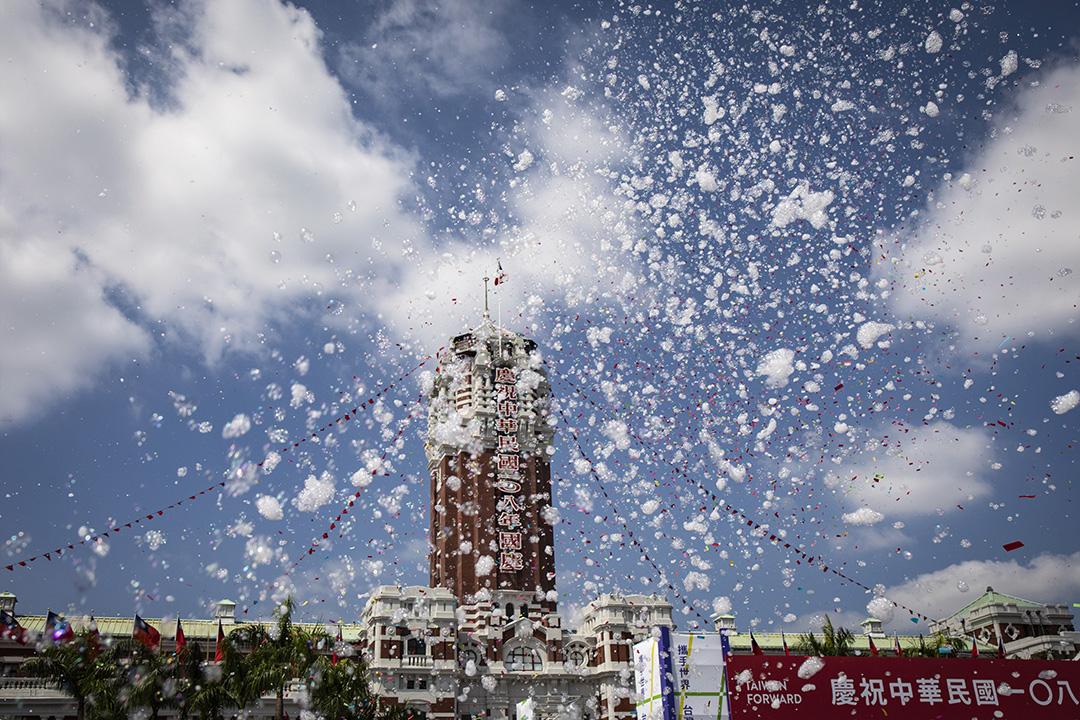 2019年10月10日,中華民國108年國慶大會。 攝:陳焯煇/端傳媒