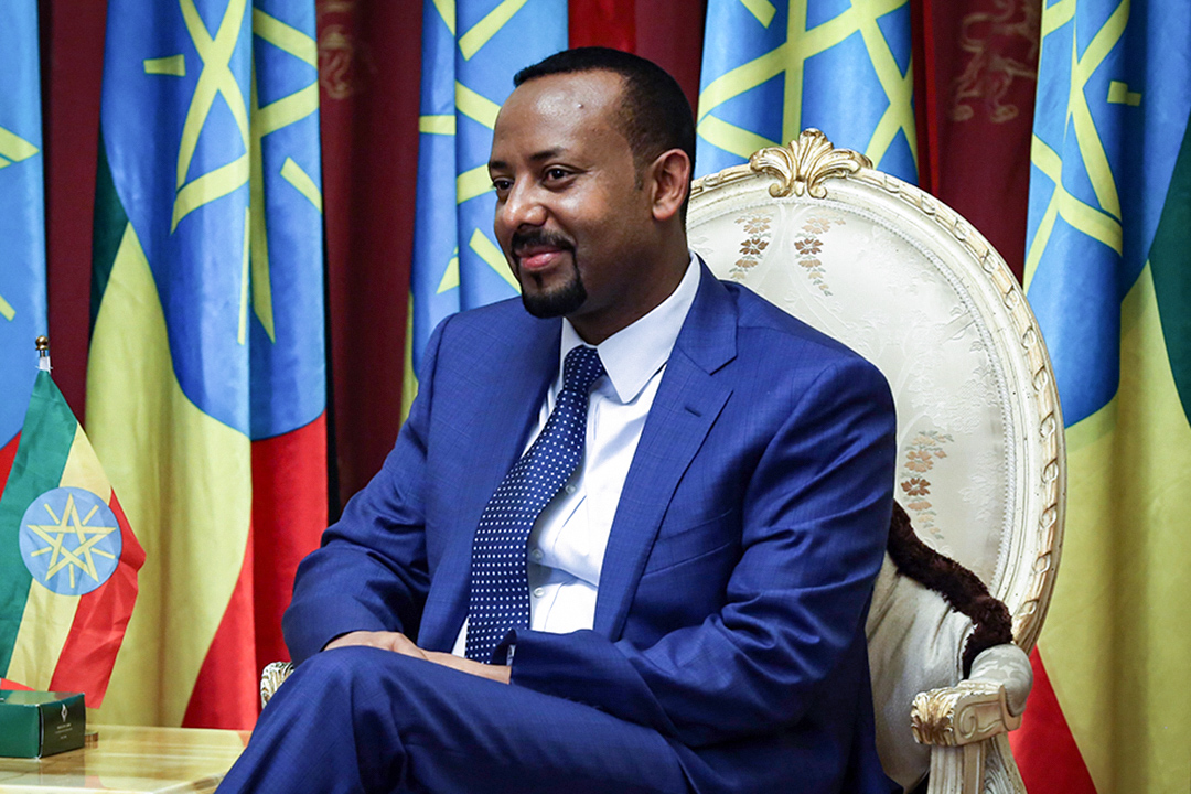 埃塞俄比亞總理Abiy Ahmed Ali。