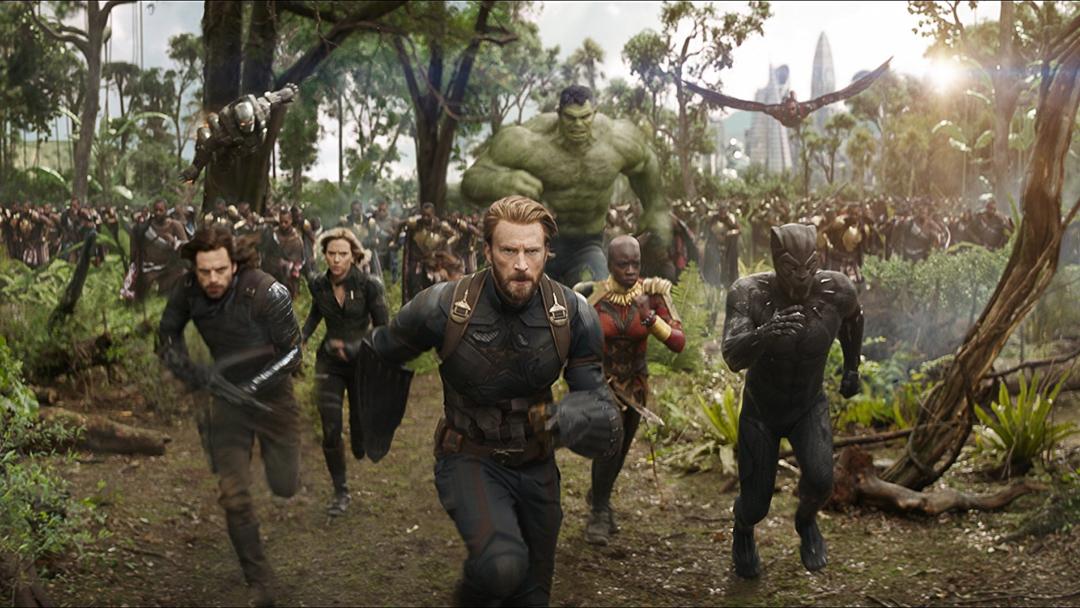 《復仇者聯盟 無限之戰》劇照。