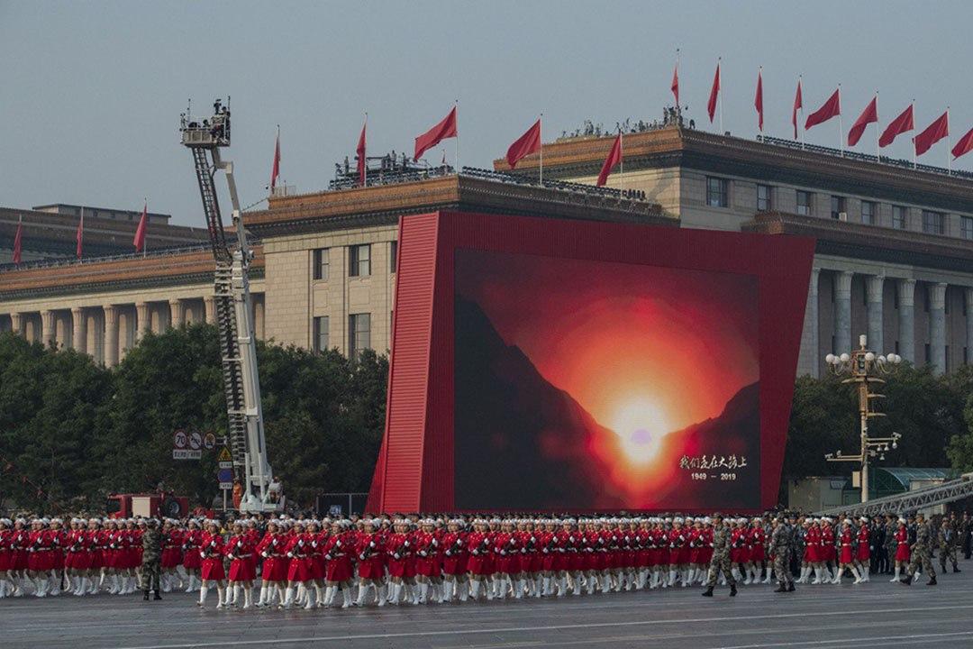 北京街頭。