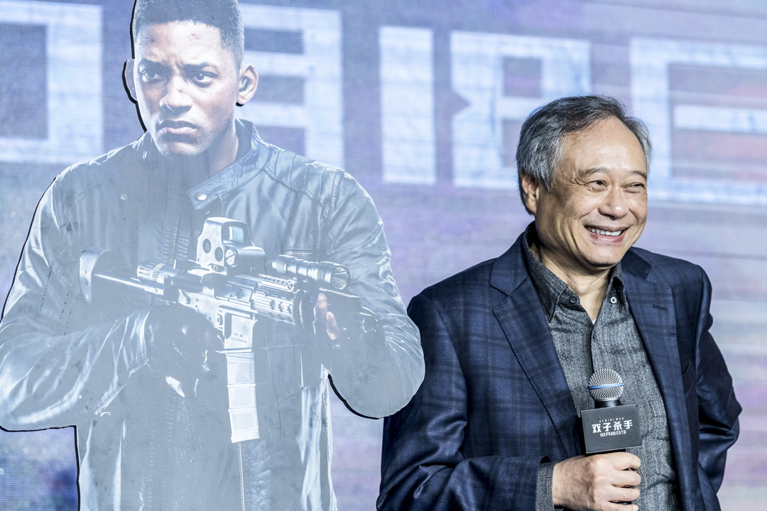 2019年10月14日,李安電影《雙子殺手》發布會。 圖:IC photo