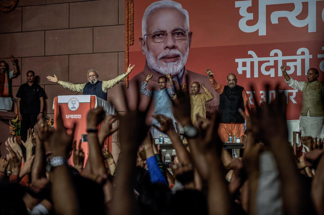 印度現任總理莫迪 (Narendra Modi)。