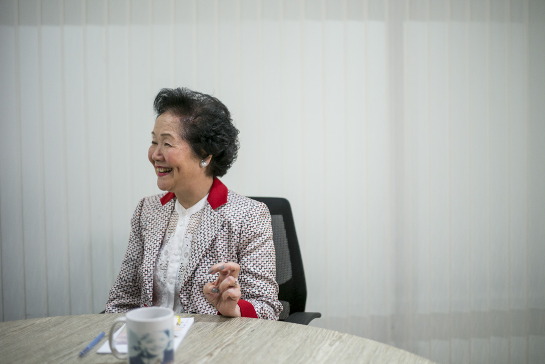 陳方安生說,「香港對我的家庭是非常好,我有責任回饋,無論是遊說工作,在本地推動民主,我都盡量去做。我明年都80了,有一日精神,一日都會為香港做事。」