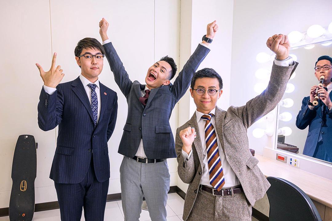台灣「網紅」歡樂無法黨。 圖:網上圖片