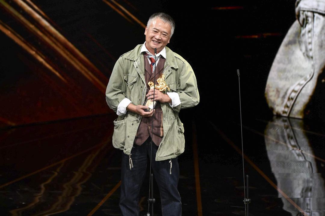 「年度台灣傑出電影工作者」得獎者湯湘竹。