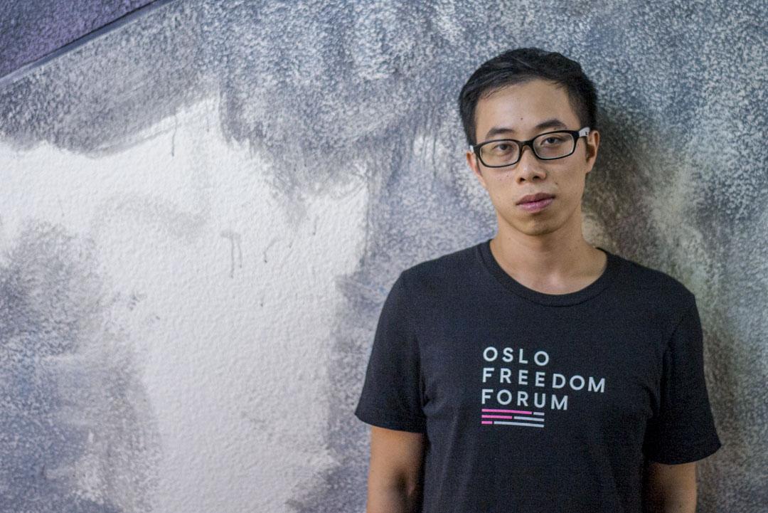 國際特赦組織香港分會執委、民陣前召集人楊政賢。