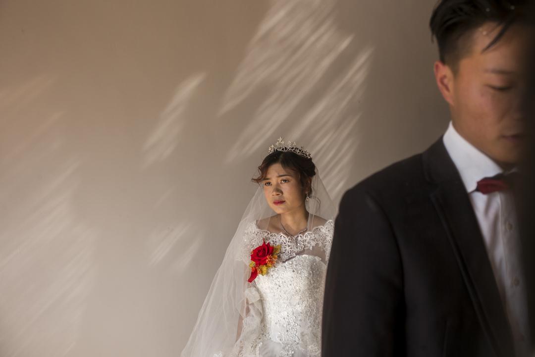李總親自在河南操辦了緬甸姑娘家鄉和河南小夥小彬的婚禮,是他開啟緬甸相親業務之後成功的第一對。