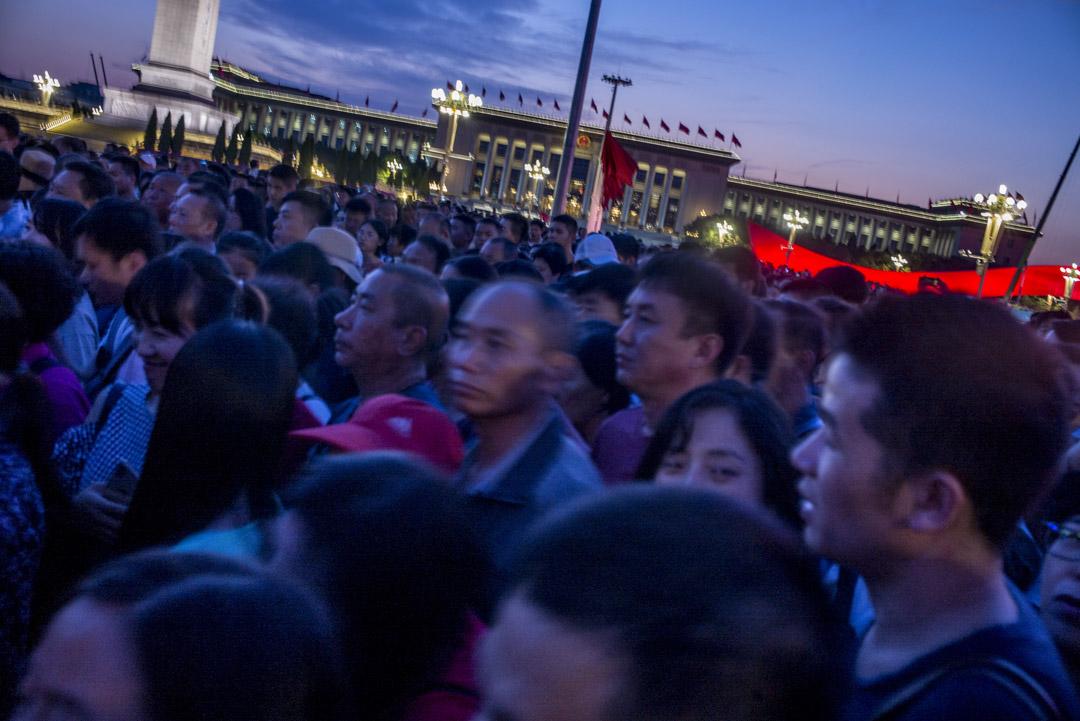 2019年,國慶前的北京天安門廣場。