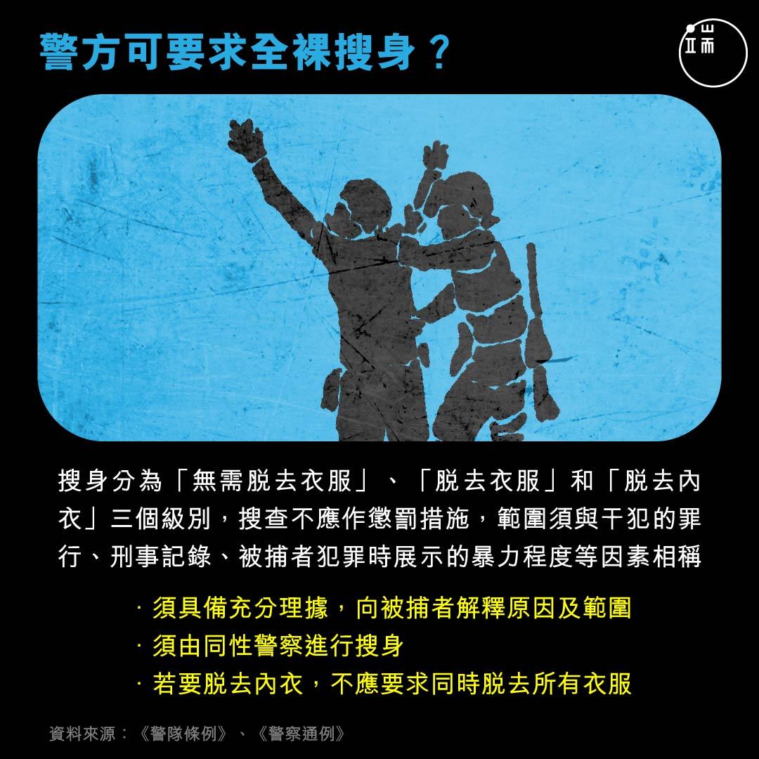 被捕者權利知多少?