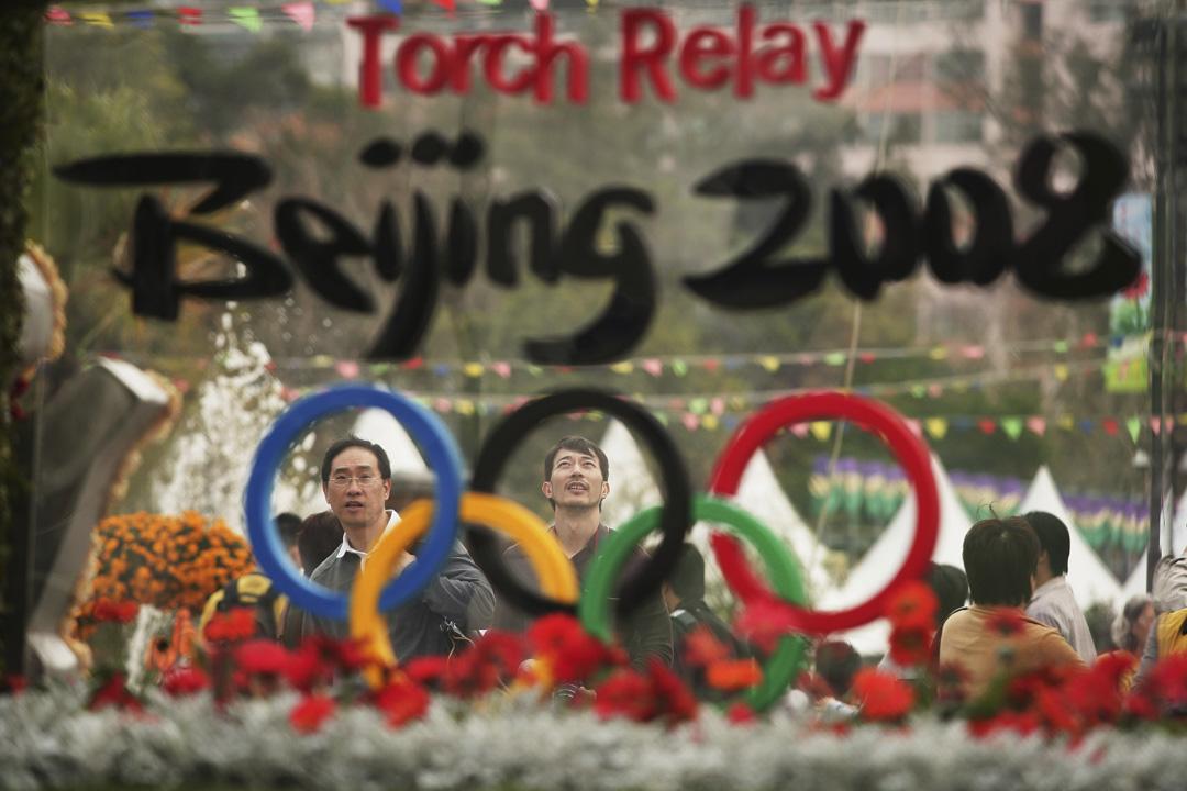 2008年3月,香港花卉展有迎接京奧的環節。