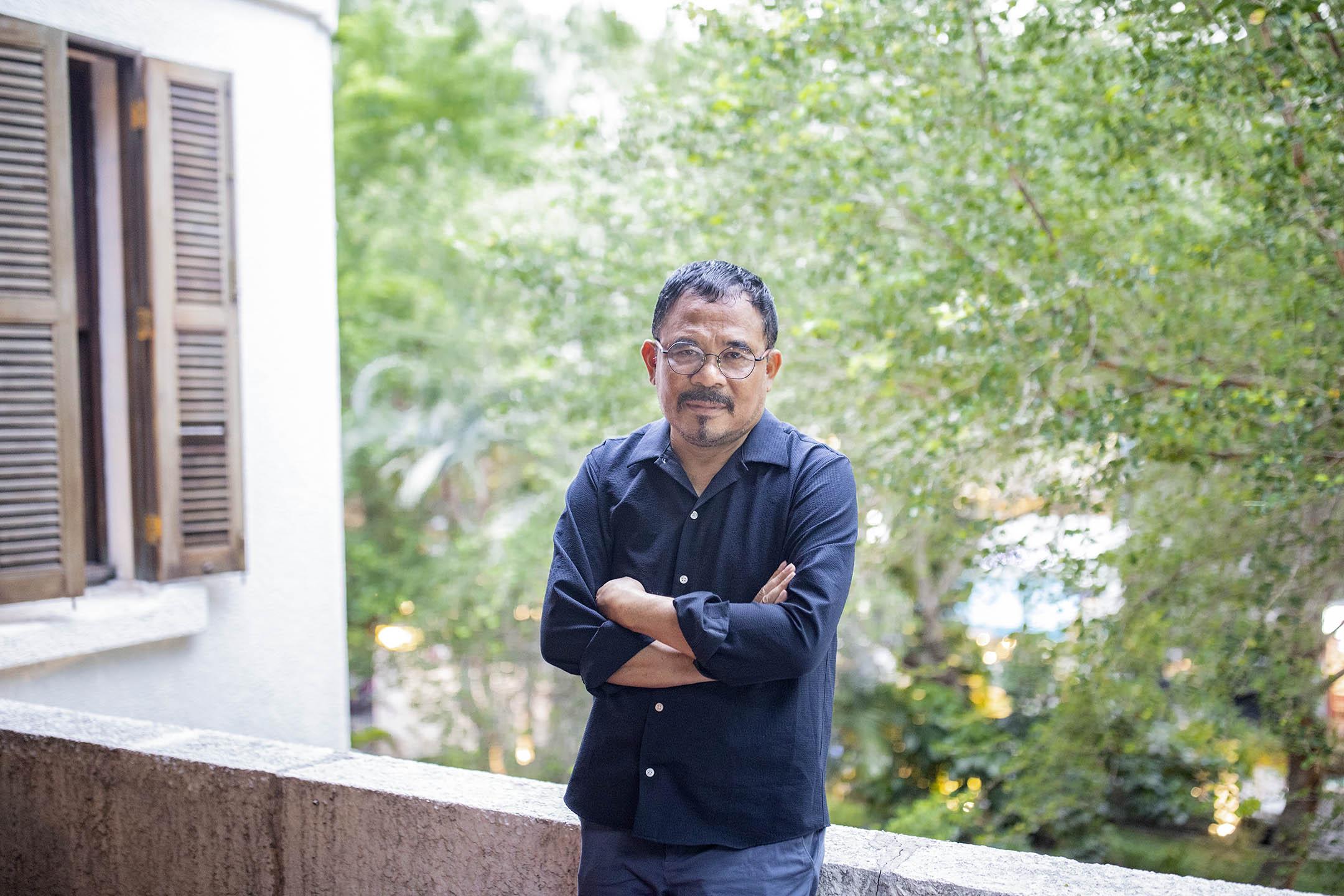 印尼導演嘎林・努戈羅和。 攝:陳焯煇/端傳媒