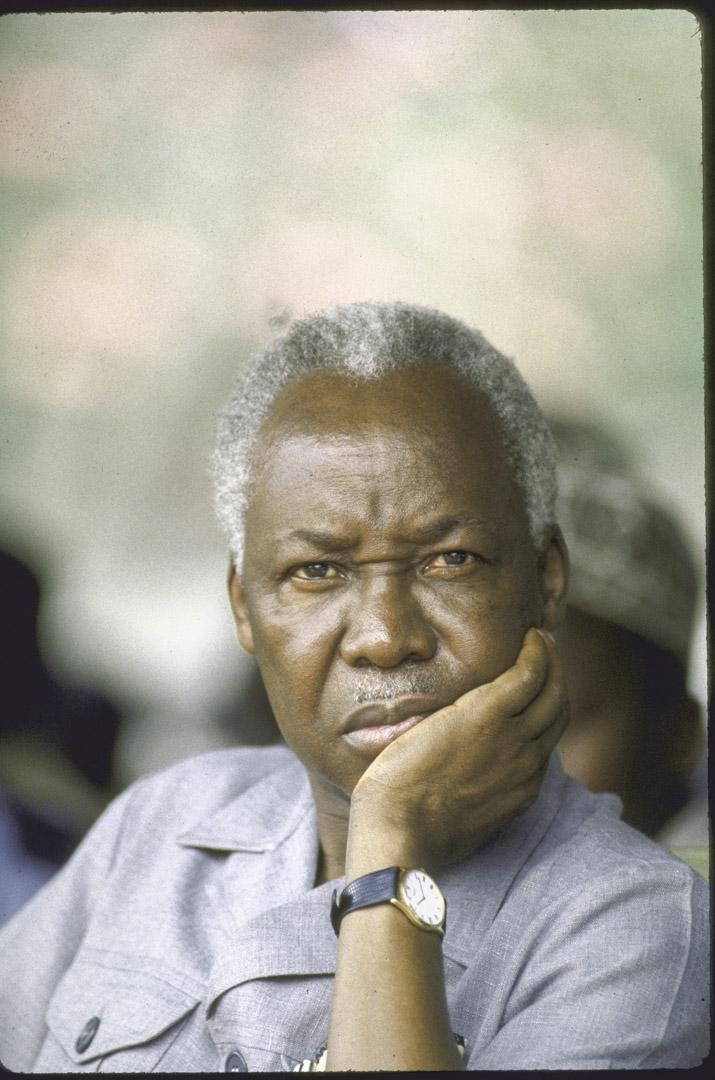 從1980年代中後期起,對國家經濟狀況力不從心的尼雷爾(Julius Kambarage Nyerere)主動辭去總統職務,決心換上年輕人。