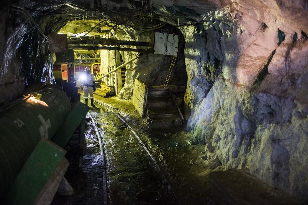 贊比亞一個銅礦內。