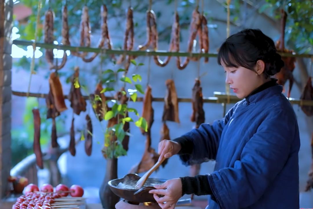 中國網紅李子柒。 圖:網上圖片