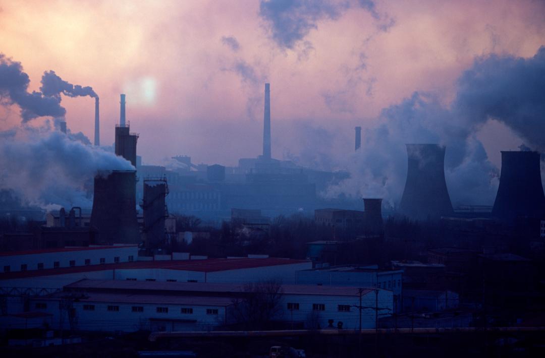 中國內蒙古一家鑄鋼廠。