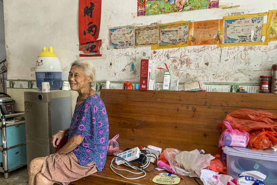 楊華的母親。
