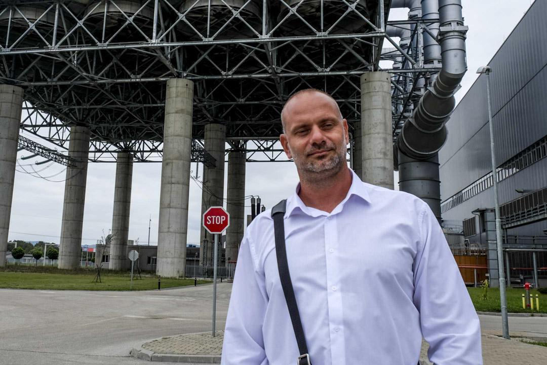 斯坦納瑞電廠的技術總監、塞爾維亞人米利西(Aleksandar Milic)。