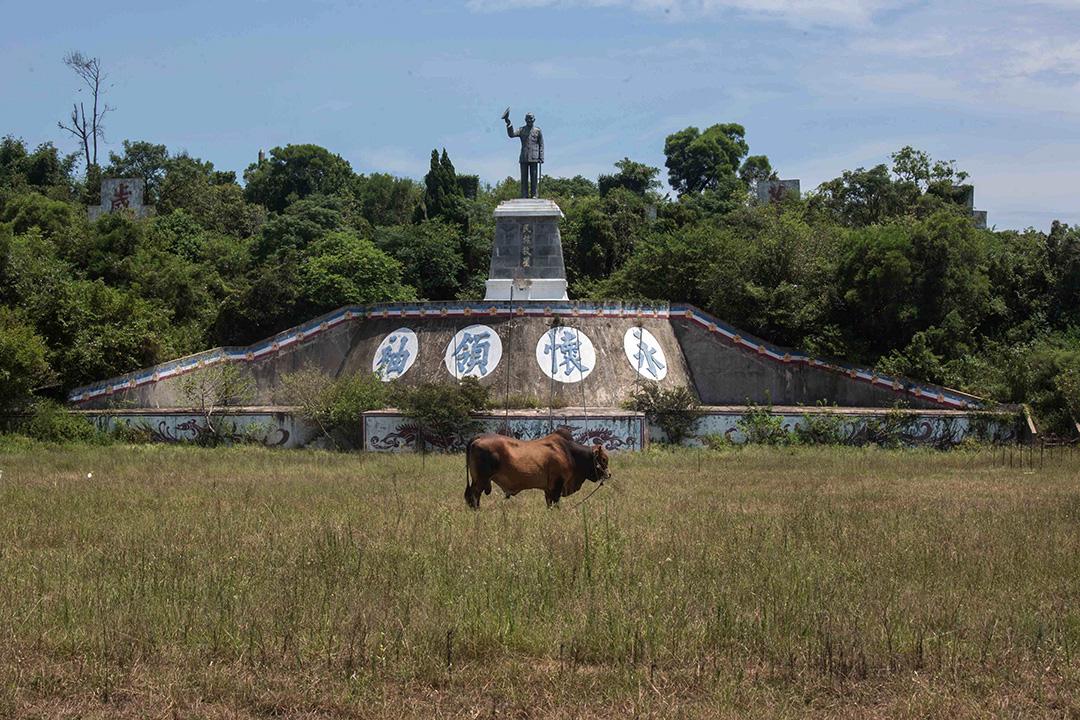小金門上的蔣介石像。