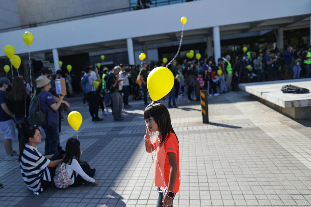 12月1日「孩子不要催淚彈」,由中環愛丁堡廣場遊行至政府總部。