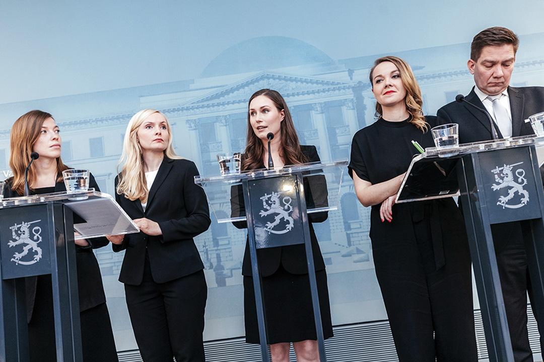 2019年12月10日,芬蘭赫爾辛基舉行了芬蘭新政府的新聞發布會。