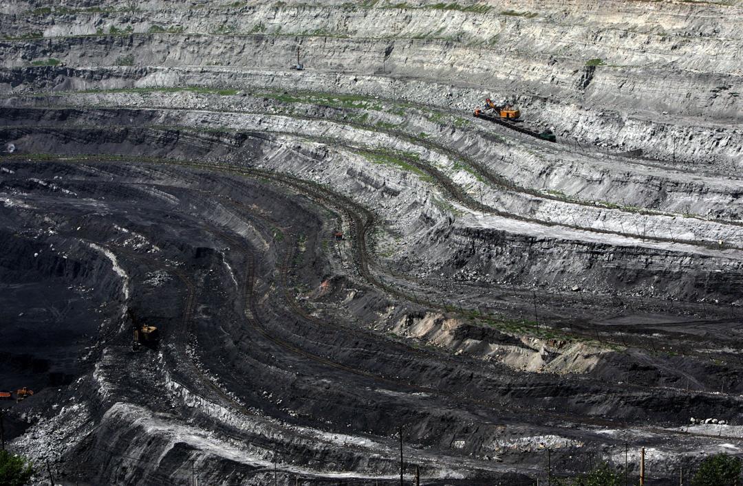 2006年,中國內蒙古一個煤礦場。