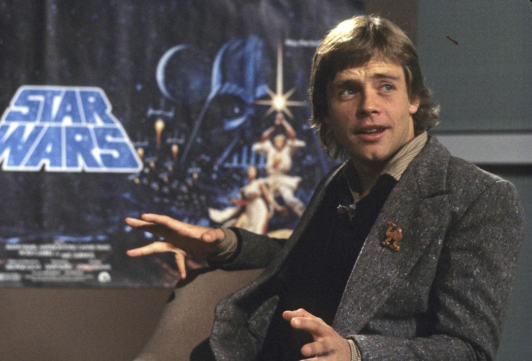 Mark Hamill,攝於1979年。