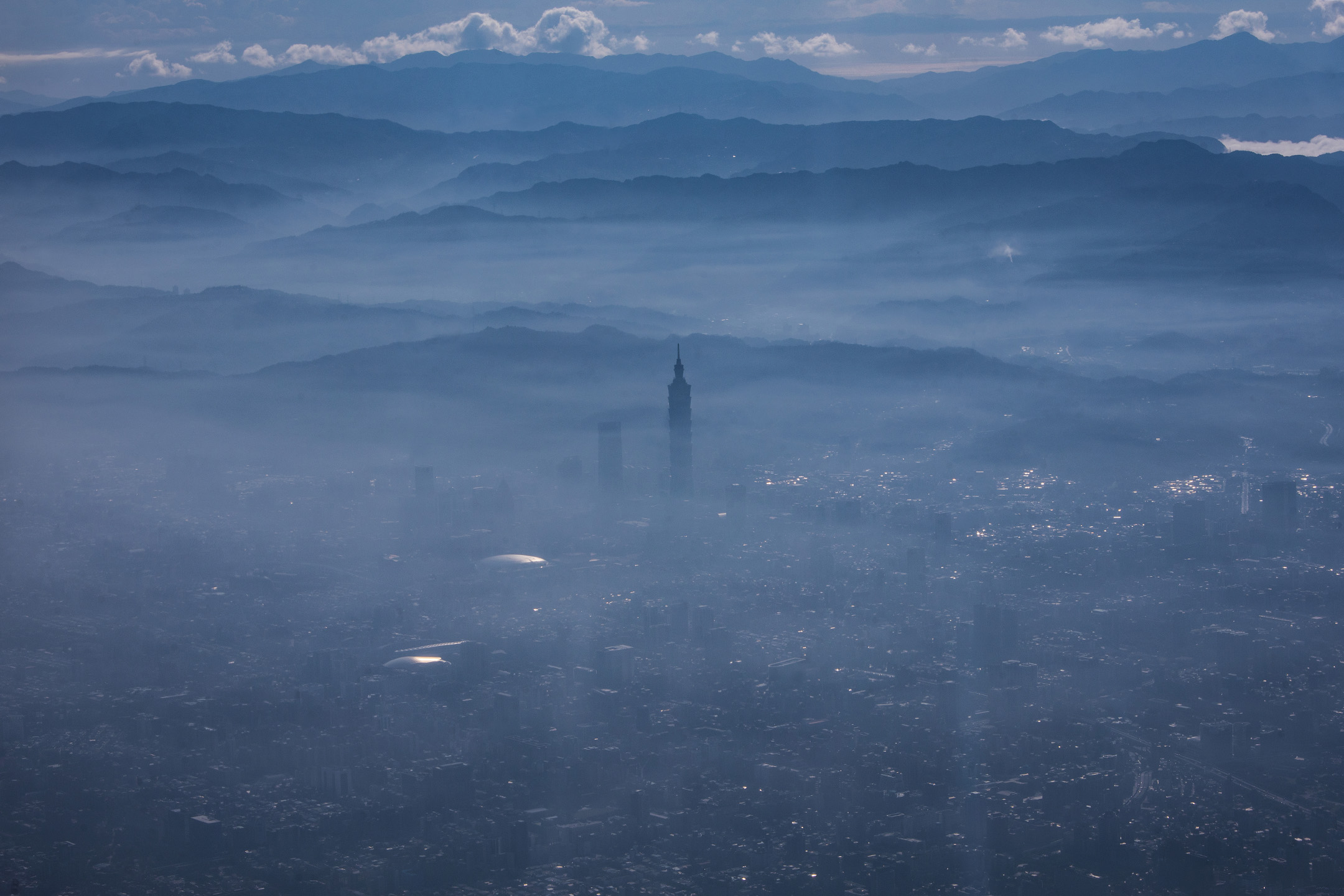 2019年12月1日,台北的早晨。
