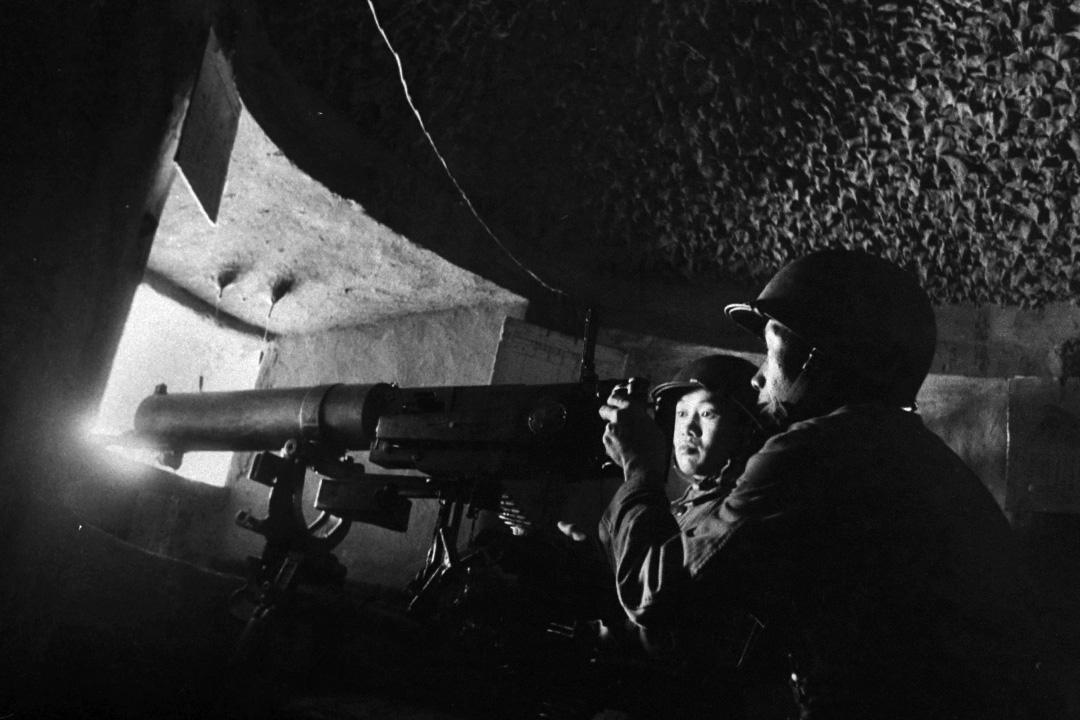 1957年5月1日,馬祖的軍事演習。
