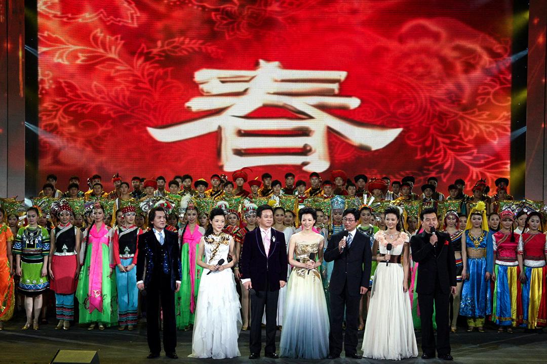 2008年1月29日,北京,2008年央视春晚第三次彩排。