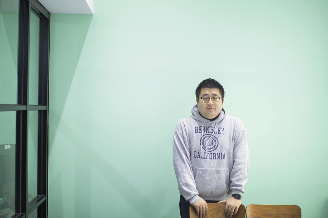 蔡英文競選總部的操盤手林鶴明。