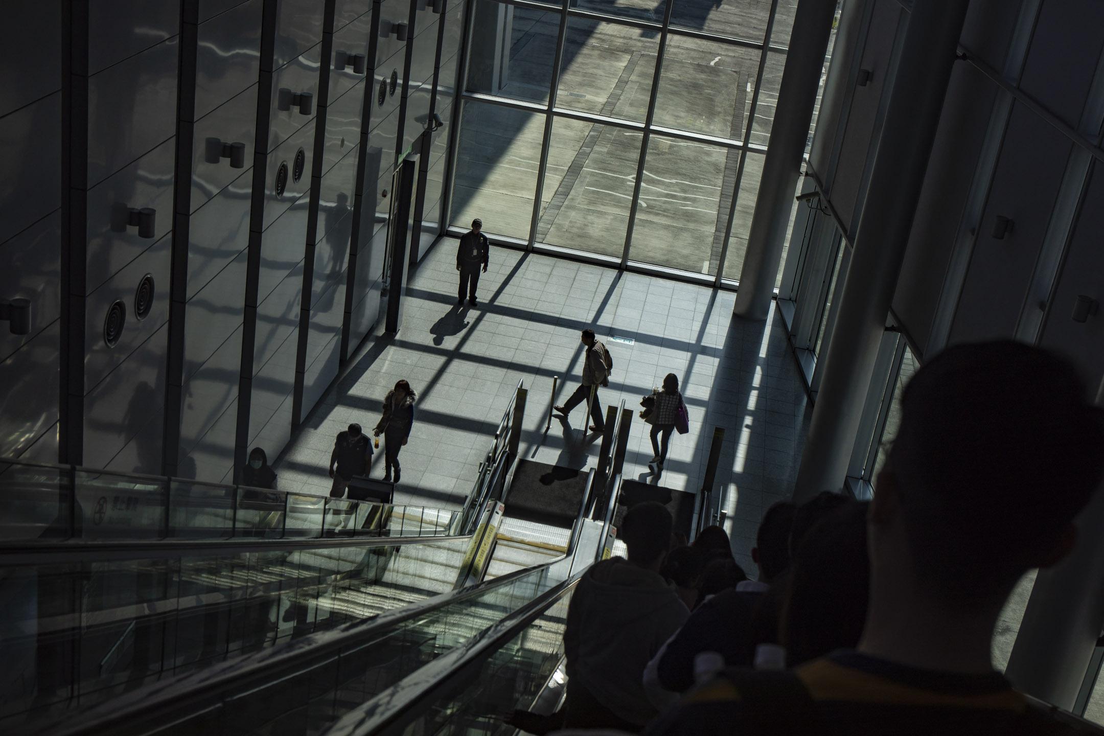 2019年12月22日,嘉義高鐵站。