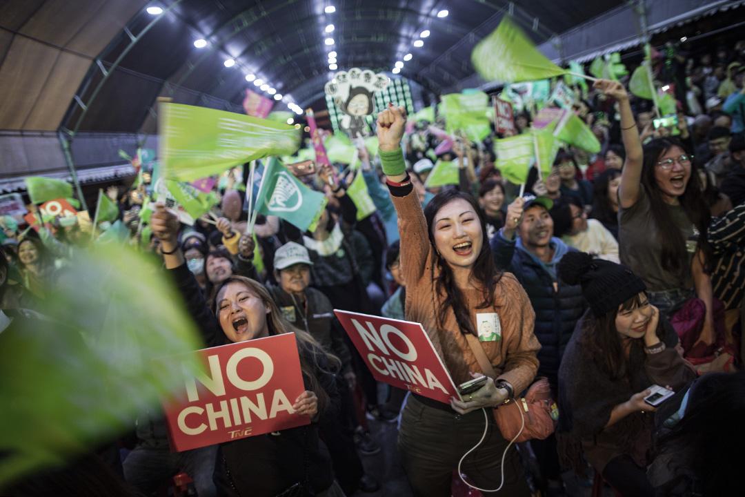 2019年12月29日台北,民進黨舉行「下架吳斯懷之夜」。