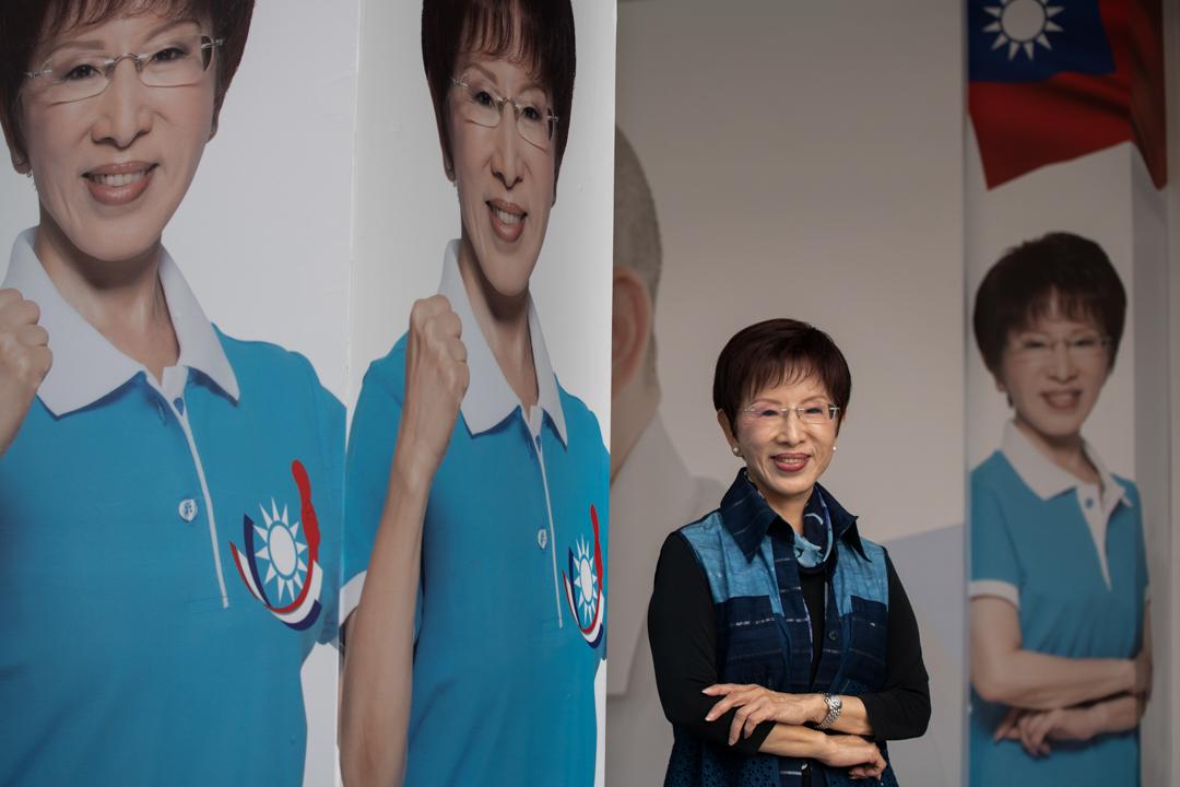 國民黨台南立委候選人洪秀柱。