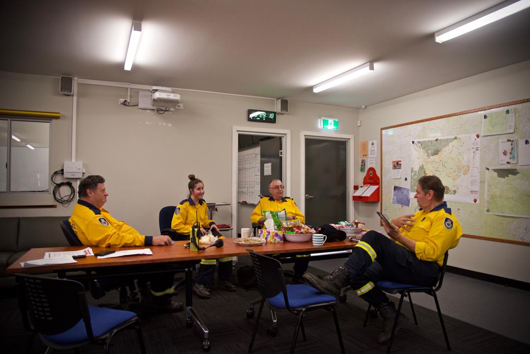 郊區防火組織(Rural Fire Service,簡稱RFS)的消防站。