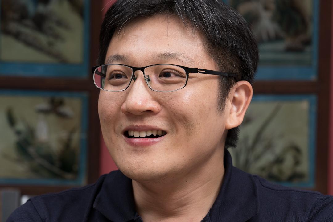 台灣著名版權代理人譚光磊。