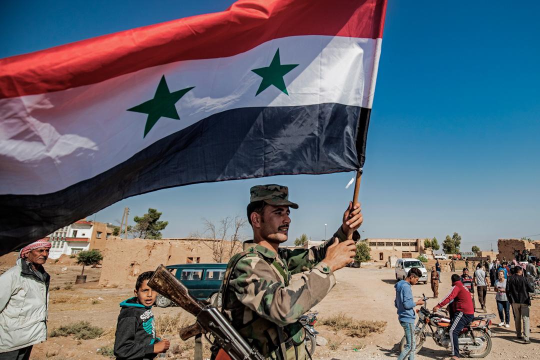 敘利亞政府規定所有18到40歲的男性服兵役。